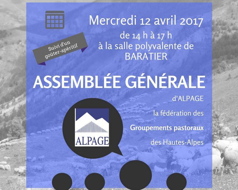 AG d'ALPAGE le 12/04/2017