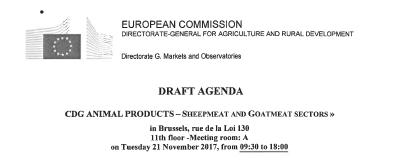 Dossier loup : intervention de L. Garde auprès de la Commission Européenne