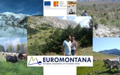 Euromontana accueillie sur une estive des Alpes de Haute-Provence