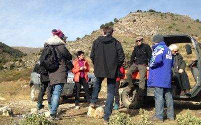 On vous dit patou… ou quand les éleveurs aveyronnais viennent se renseigner sur les chiens de protection dans les Alpes-Maritimes