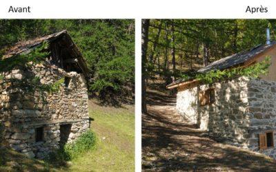 Une nouvelle cabane pastorale rénovée avec le CERPAM en haute Ubaye