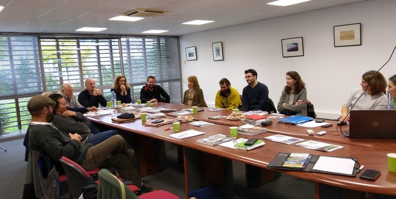 Espaces Naturels Sensibles #ENS : Les gestionnaires et les éleveurs se rencontrent en Vaucluse