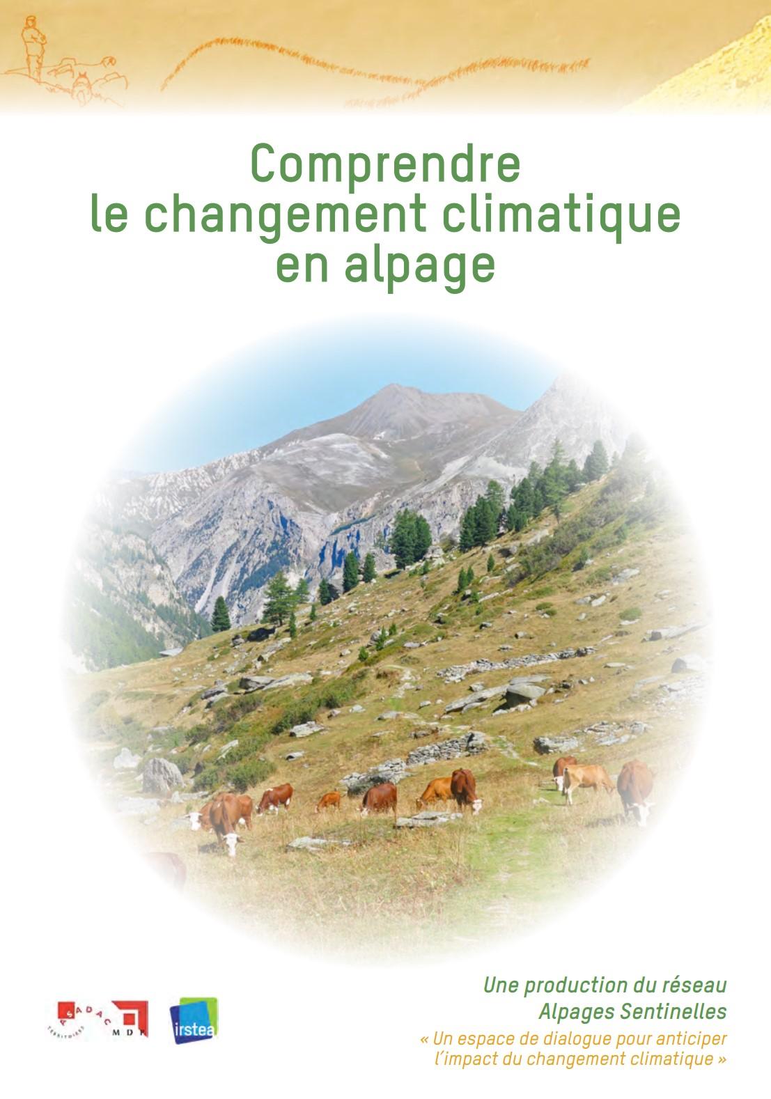 Changement climatique alpages sentinelles1