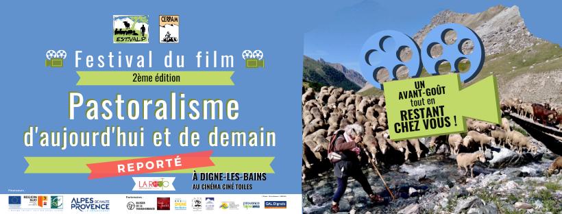 2ème édition du Festival du Film «Pastoralisme d'aujourd'hui et de demain» > Reporté – un avant goût tout en restant chez vous !
