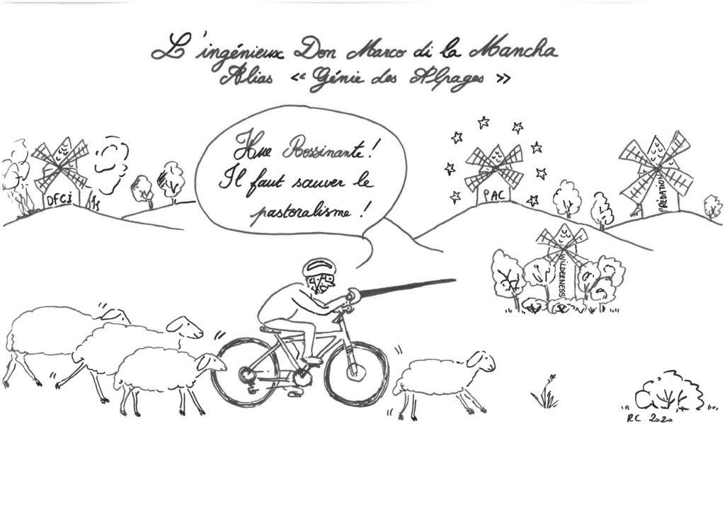 Marc Dimanche devient un Grand Ancien du Pastoralisme